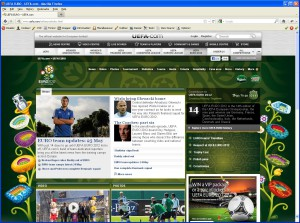 Website www.euro2012.com