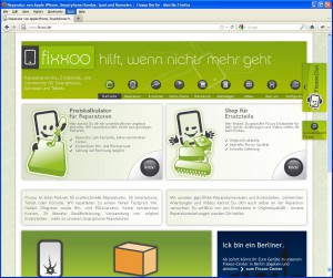 Website fixxoo.de