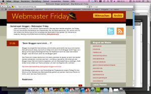 Webmasterfriday Website