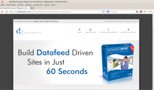 Datafeed Plugin von Digitalquill