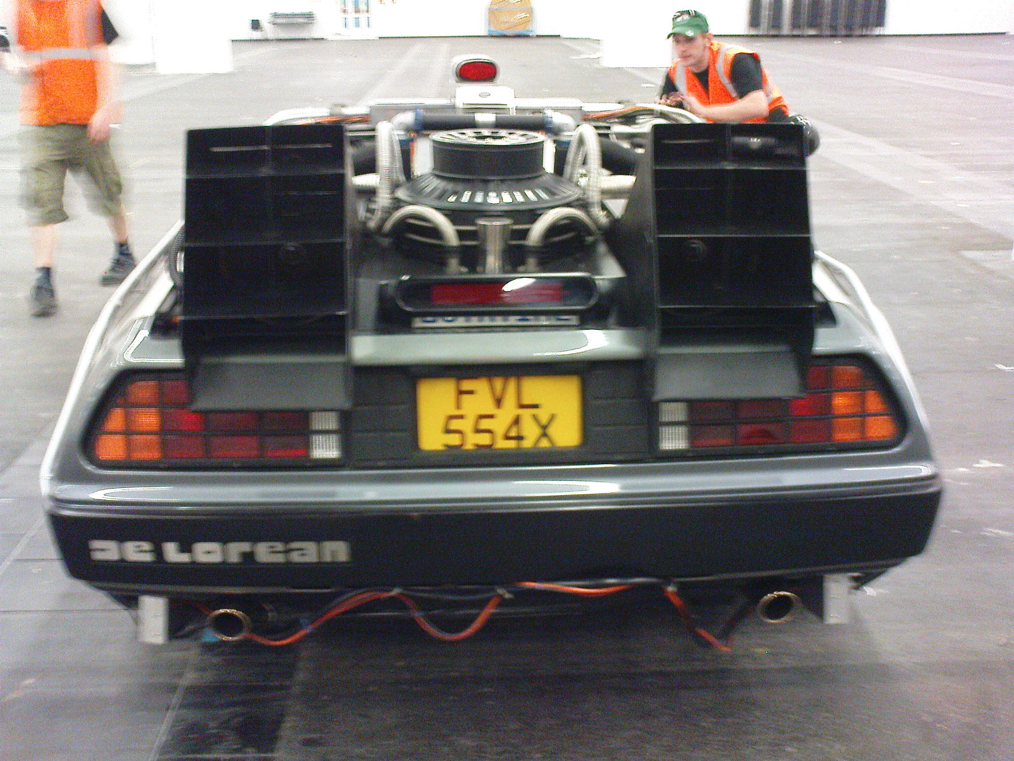 DeLorean - Heckansicht /Rear view
